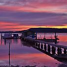 The Oyster shed by Len  Gunther
