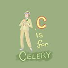 C is for Celery by trollfish