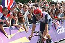 Bradley Wiggins - Gold in Mens Individual Time Trial - London 2012 by Colin J Williams Photography