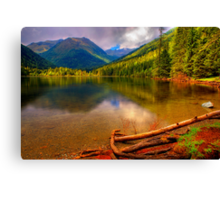 Etrachlake Reflection Canvas Print