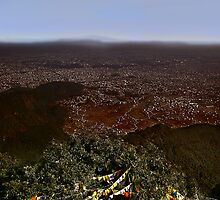 Kathmandu Plain by V1mage