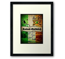 New Ireland Quidditch Framed Print