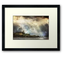 Air, Water, Places. Framed Print