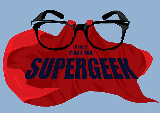 Super Geek by Andy Scullion