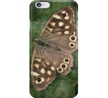 Speckled Wood Butterfly iPhone Case/Skin