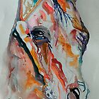 Wild Horse by BevsArtCreation
