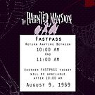 Haunted Mansion Fastpass by Margybear