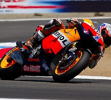 Casey Stoner at laguna seca 2012 by corsefoto