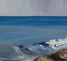 "detail ""Salish Sea Four"" oil painting  MAYNE ISLAND  by TerrillWelch"