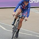 Kristen Armstrong - Starts The Women`s Individaul Time Trial - London 2012 by Colin J Williams Photography
