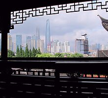 View from above Yu Garden © by Ethna Gillespie