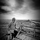 Oyster Farmer by hangingpixels