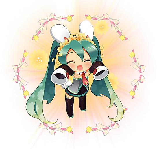 Chibi Miku by Nai-Akari