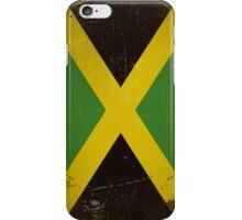 Vintage flag of Jamaica iPhone Case/Skin