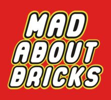 MAD ABOUT BRICKS by Customize My Minifig by ChilleeW