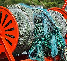 Rolled-Up Nets ~ Spanish Eyes lll by Susie Peek