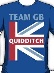 TEAM GB QUIDDITCH TEAM T-Shirt