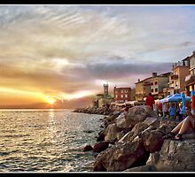 Sunset - Piran by refar
