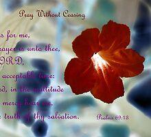 My Prayer is Unto Thee by aprilann