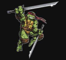 TMNT Leonardo by wizardoftees