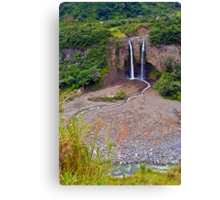 Manto Novia Waterfall Canvas Print