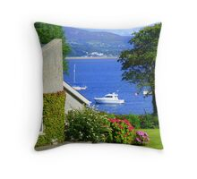 Ireland When The Sun Shines Throw Pillow