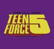 Teen Force 5 Logo Tee by watchguard