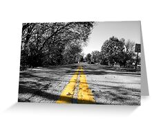 Speed Limit 35 Greeting Card