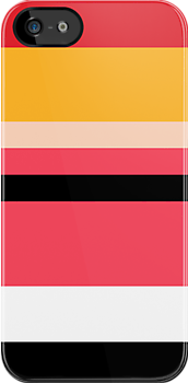 Minimalist Powerpuff Girls Blossom [iPhone / iPad / iPod Case] by Damienne Bingham