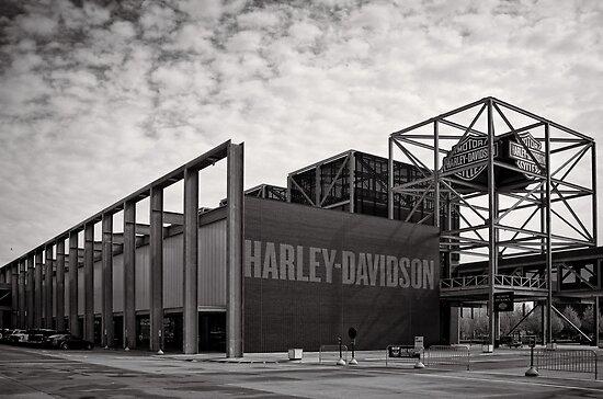 Harley Davidson Museum - USA by Norman Repacholi