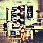 Intersection. Grunge by Sergey Kireev