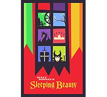 Walt Disney's Sleeping Beauty Photographic Print