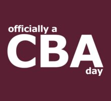 CBA by Jonathan Carre