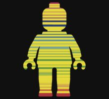Striped Minifig by Customize My Minifig by ChilleeW