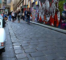 Hosier Lane - Melbourne, Australia by clickedbynic