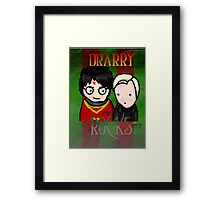 Drarry Rocks Framed Print