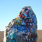 graffitti rock by kromwellfarkus