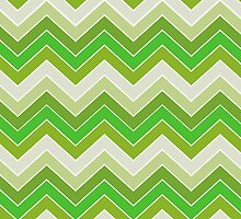 Spring Green {chevron pattern} by sweettoothliz