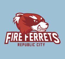 Republic City Fire Ferrets Kids Clothes