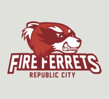 Republic City Fire Ferrets by Rachael Thomas