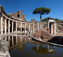 The Maritime Theatre in Hadrian's Villa, Tivoli  by Yair Karelic