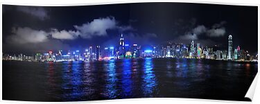 Hong Kong from Kowloon by Simon Bowen