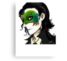 loki's masquerade Canvas Print