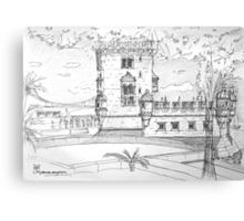 iPad case, Ipad deflector. Torre de Belém Canvas Print