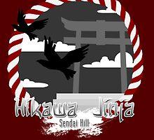 Hikawa Jinja Shrine Poster by SimplySM
