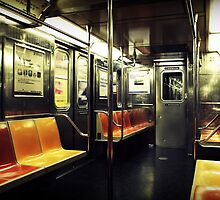 Empty Subway by Caroline Fournier