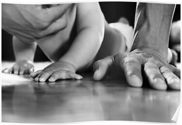 Daddy's Hands by Laura-Lise Wong