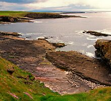 Rugged Coast Mullaghmore Ireland  by Pauline Tims