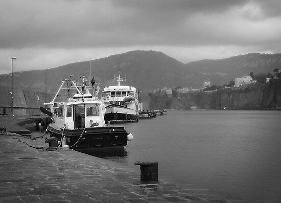 Hidden Harbor of Sorrento, Italy by Lucinda Walter