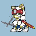 Samurai Pizza Cats- Speedy Cerviche by LillyKitten